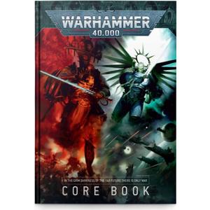 Warhammer 40000 Core Rule Book - 60040199124