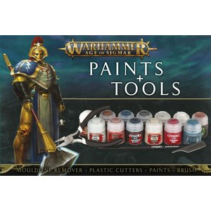Warhammer Age Of Sigmar Paints & Tools Set - 99170299015