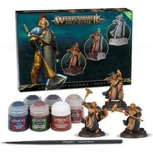 Warhammer Stormcast Eternals And Paint Set - 99170218003
