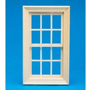 Dolls House Emporium Working Wooden Sash Window 1:12 Scale By Dolls Houses Emporium 143 X 80mm - 7397