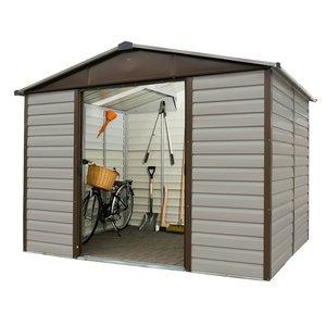 10x6ft Yardmaster Shiplap Metal Shed Sheds & Garden Furniture