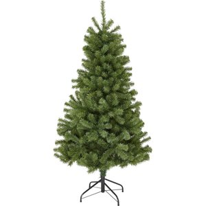 None 5ft Evergreen Fir Artificial Christmas Tree Decorations, Green