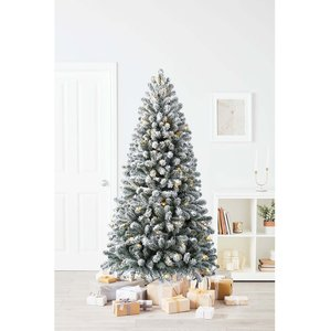 Homebase 6.5ft Chaumont Spruce Artificial Christmas Tree Decorations, Green
