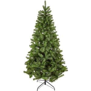 None 7ft Evergreen Fir Artificial Christmas Tree Decorations, Green