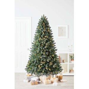 Homebase 7ft Vienna Spruce Premium Christmas Tree Decorations, Green