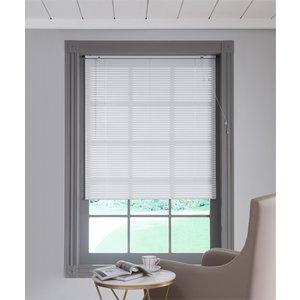 None Aluminium Venetian Blind - White - 70x160cm Curtains & Blinds, White