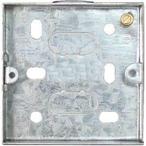 Arlec 1 Gang Metal Box 16mm Diy
