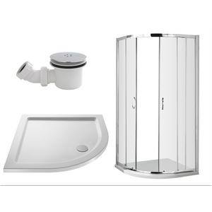 Balterley 800mm Quadrant Shower Enclosure Package (5mm Glass) Bathroom Sinks & Taps