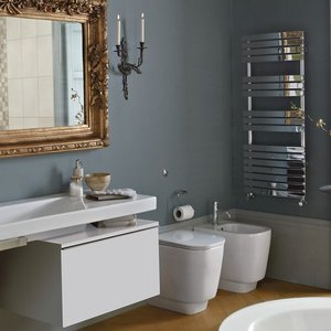 Bathstore Rimini Chrome Radiator Bathrooms