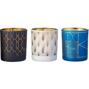 None Biteshield Citronella Tealight Holders (3 Pack) Decorations