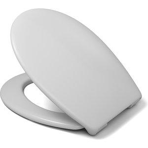 Cedo Miami Plastic Soft Close Toilet Seat - White Bathrooms & Accessories, White