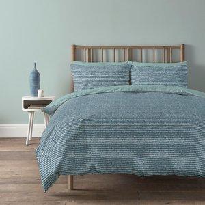 Copenhagen Home Arri Reversible Bedset - King - Ocean Home Accessories, Blue