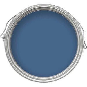 Craig & Rose 1829 Chalky Emulsion - Flanders Blue - 750ml Painting & Decorating, Blue
