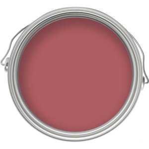 Craig & Rose 1829 Chalky Emulsion - Persian Rose - 50ml Painting & Decorating, Red