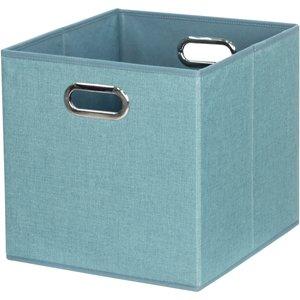 None Cube Fabric Insert - Jade Green Furniture, Green