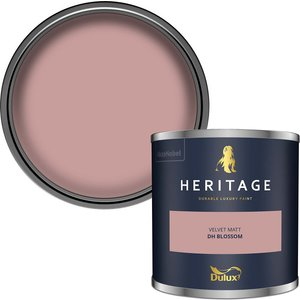 Dulux Heritage Colour Tester - Dh Blossom - 125ml Painting & Decorating, Pink
