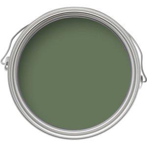 Farrow & Ball Eco No.34 Calke Green - Exterior Matt Masonry Paint - 5l Painting & Decorating, Green