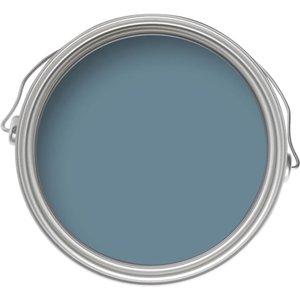 Farrow & Ball Eco No.86 Stone Blue - Exterior Matt Masonry Paint - 5l Painting & Decorating, Blue