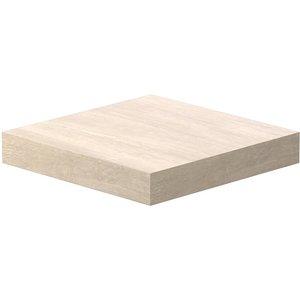 Flexi Storage Floating Shelf - Sanoma Oak - 250 X 250 X 38mm Furniture, Brown