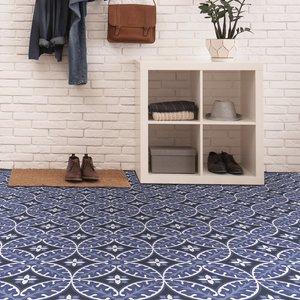 None Floorpops Peel And Stick Floor Tiles Capri Diy