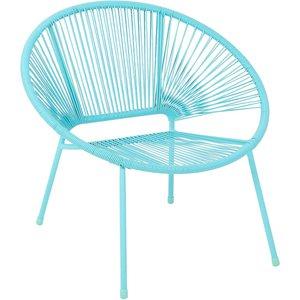 Homebase Acapulco Garden Chair - Blue Sheds & Garden Furniture, Blue