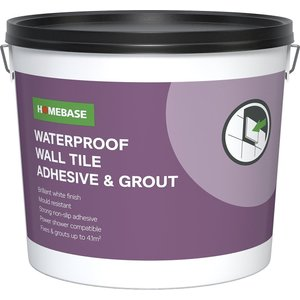 Homebase Adhesive & Grout - 6.9kg Cleaning