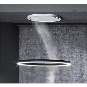 Inox Halo 55-75cm Ceiling-mounted Cooker Hood - White/black Diy
