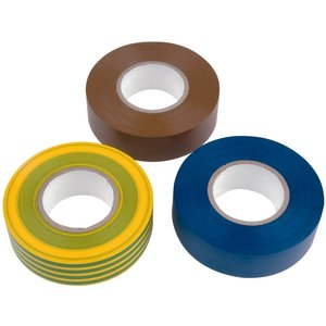 Get Insulation Tape 20m Mixed 3 Pack General Household