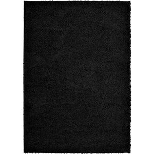 None Jazz Rug Black Rug - 200 X 290cm Home Accessories, Black