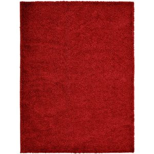 None Jazz Rug Red Rug - 200 X 290cm Home Accessories, Red