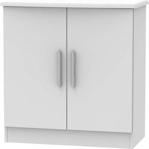None Kensington 2 Door Sideboard - Grey Furniture, Grey