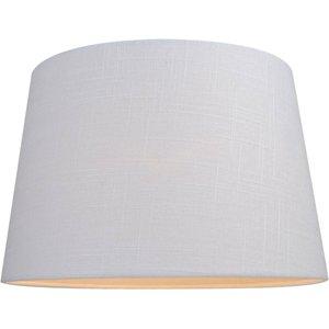 None Linen Taper Lamp Shade - White - 30cm Lighting, White