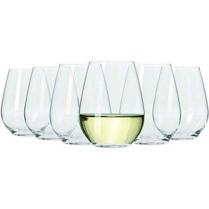None Maxwell & Williams Vino Set Of 6 400ml Stemless White Wine Glasses Cookware & Utensils