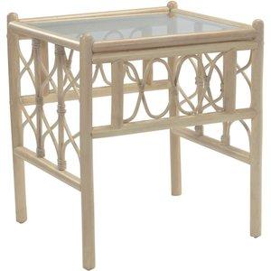 None Morley Side Table Sheds & Garden Furniture, Natural