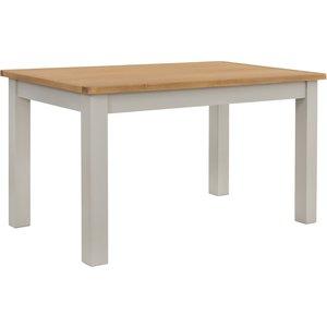 Homebase Norbury 6 Seater Dining Table - Grey Furniture, Grey