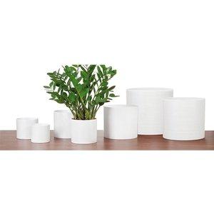 Scheurich Plant Pot - White - 14cm Garden, White