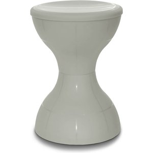 None Plastic Stool - Grey Chairs