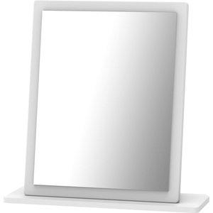 None Portofino White Gloss Small Mirror Furniture, White