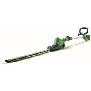 Powerbase 20v Cordless Pole Hedge Trimmer 41cm Garden Tools