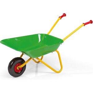Rolly Toys Rolly Childs Green Metal Wheelbarrow Outdoor Toys
