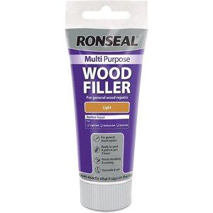 Ronseal Multipurpose Wood Filler Tube - Light - 100g Diy