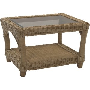 None Seville Coffee Table Sheds & Garden Furniture, Natural