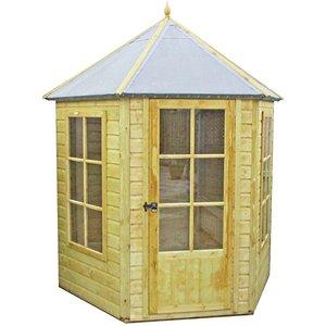 Shire Gazebo Summerhouse (incl. Installation) - 7x6ft Sheds & Garden Furniture