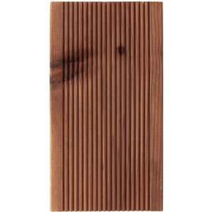None Softwood Timber Brown Decking 28x120x3.0mtr (pack Of 4) Garden