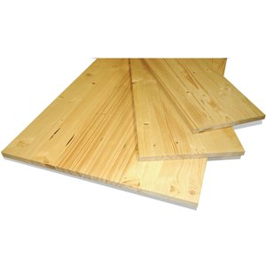 None Solid Spruce Board - 18 X 300 X 850mm Home Textiles