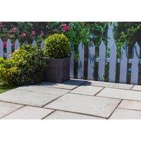Stylish Stone Natural Sandstone 10.2sq M - Lakefell Garden
