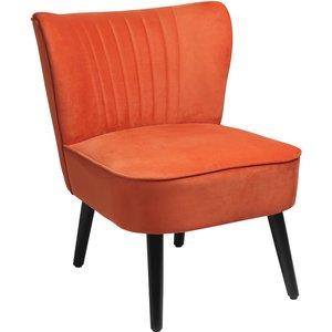 Homebase The Occasional Chair - Burned Orange Furniture, Orange