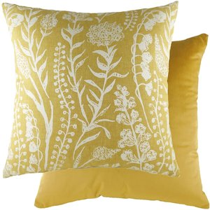 None Turi Cushion - Sunflower - 43x43cm Home Accessories, Yellow