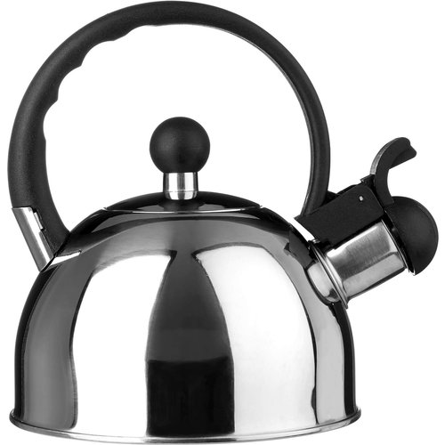 None Whistling Kettle - 1ltr - Mirror Finish Small Appliances class=