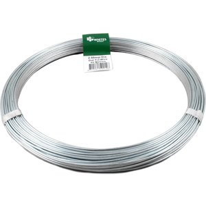 None Whites Steel Tie Wire - 2mm X 40m Plants & Seeds